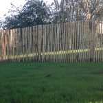 Clôture ganivelle en bois