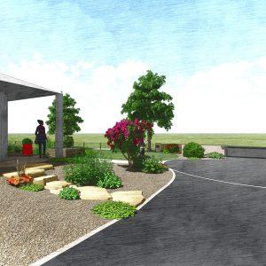 Jardins du Moulin - Aménagement jardin 3D