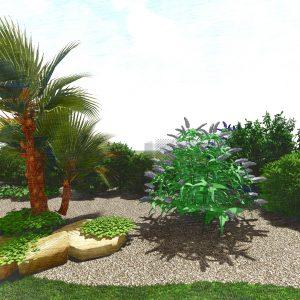 Jardins du Moulin - Aménagement massif 3D