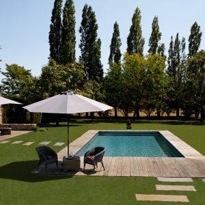 Aménagement d'un jardin avec piscine