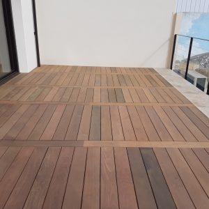 Habillage d'une terrasse en bois