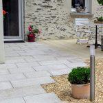 Jardins du moulin paysagiste - Terrasse pierre Granite beige