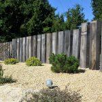 Jardins du moulin paysagiste - Traverse de chêne