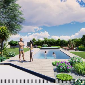 JARDINS DU MOULIN PAYSAGISTE TILLIERES - Phase visuel 3D (6)
