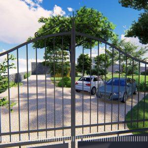 JARDINS DU MOULIN PAYSAGISTE TILLIERES - projet phase 3D3